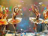 Ballet of colours